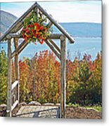 Wedding Gazebo Metal Print