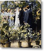 Wedding Party, 1897 Metal Print