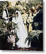 Wedding Party, 1900 Metal Print