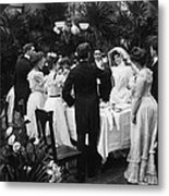 Wedding Party, 1904 Metal Print