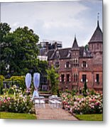 Wedding Setting In De Haar Castle. Utrecht Metal Print