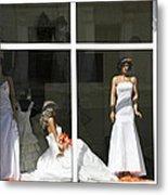 Wedding Shop In Tbilisi Metal Print