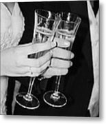 Wedding Toast Metal Print