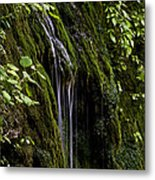 Weeping Rock Metal Print