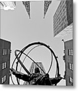 Weight Of The World Metal Print