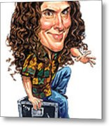 Weird Al Yankovic Metal Print