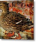 Weird Duck Metal Print by Cindi Finley Mintie
