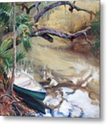 Wekiva Autumn Metal Print