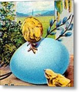 Welcome Easter Morning Metal Print