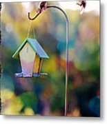 Welcome Neighbor - Digital Art Metal Print