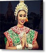 Welcome Thailand Metal Print