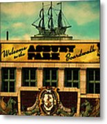 Welcome To Asbury Metal Print