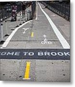 Welcome To Brooklin Metal Print