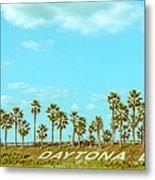 Welcome To Daytona Beach Metal Print