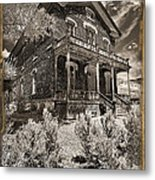 Welcome To Hotel Meade Metal Print