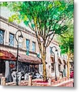 Welcome To Naperville Illinois Metal Print