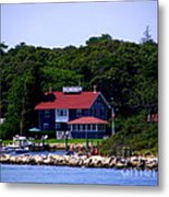 Welcome To Oak Bluffs Metal Print