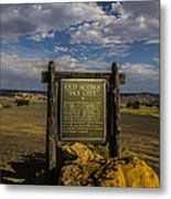 Welcome To Old Acoma Metal Print