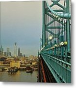 Welcome To Philly Metal Print
