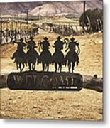 Welcome To The Journey Metal Print