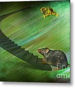 Welcome To The Race...... Metal Print