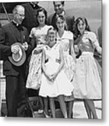 Welk And The Lennon Sisters Metal Print