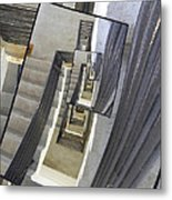 Well Of Stairs Metal Print