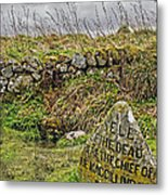 Well Of The Dead Metal Print