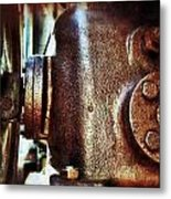 Well Run Metal Print