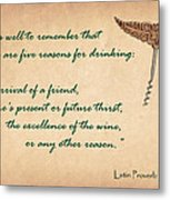 Well To Remember Metal Print by Elaine Plesser