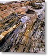 Well's Beach Metal Print