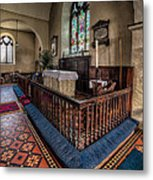 Welsh Chapel Metal Print
