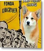 Welsh Corgi Pembroke Art Canvas Print - 12 Angry Men Movie Poster Metal Print