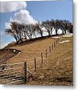 Welsh Farmland Metal Print