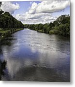 Welsh River Scene Metal Print