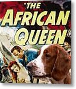 Welsh Springer Spaniel Art Canvas Print - The African Queen Movie Poster Metal Print