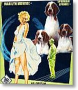 Welsh Springer Spaniel Art Canvas Print - The Seven Year Itch Movie Poster Metal Print