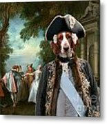 Welsh Springer Spaniel Art Canvas Print Metal Print