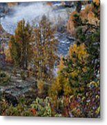 Wenatchee River From Dryden Road Metal Print