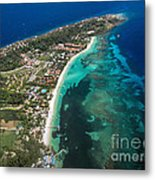 West End Roatan Honduras Metal Print