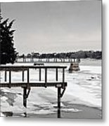 West Falmouth Harbor 2 Metal Print