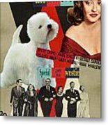 West Highland White Terrier Art Canvas Print - All About Eve Movie Poster Metal Print