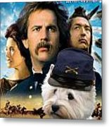 West Highland White Terrier Art Canvas Print - Dances With Wolves Movie Poster Metal Print