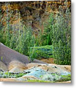 West Maui Volcanic Lava Cliffs Metal Print