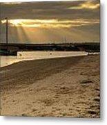 West Mersea Beach Metal Print