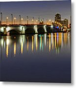 West Palm Beach At Night Metal Print