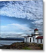 West Point Lighthouse II Metal Print