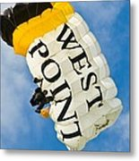 West Point Sky Diver Metal Print