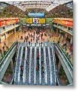 West Railway Station In Beijing Metal Print
