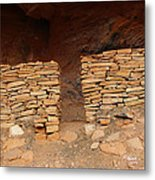 West Ruin Boynton Canyon Metal Print